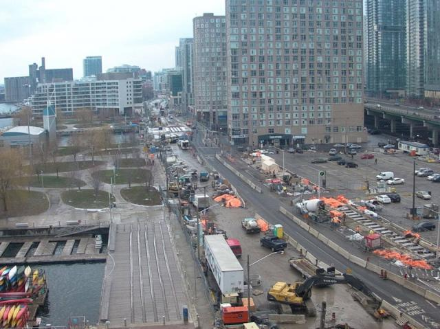 Toronto construction webcams
