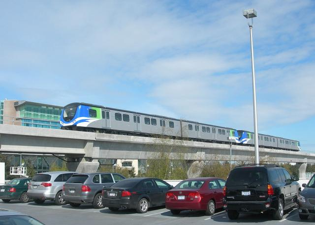Vancouver's Canada Line, image by Michael Berry from Wikipedia