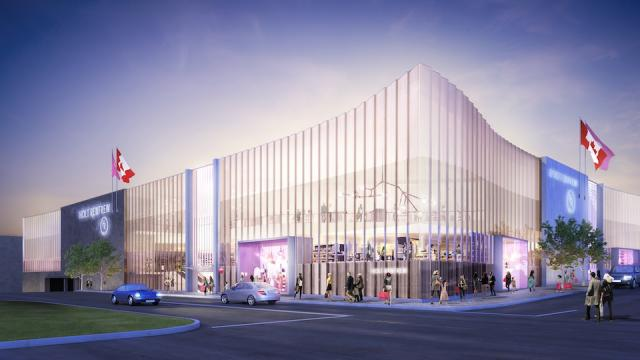 Square one expands with holt renfrew and more walkable for Architecture firms mississauga