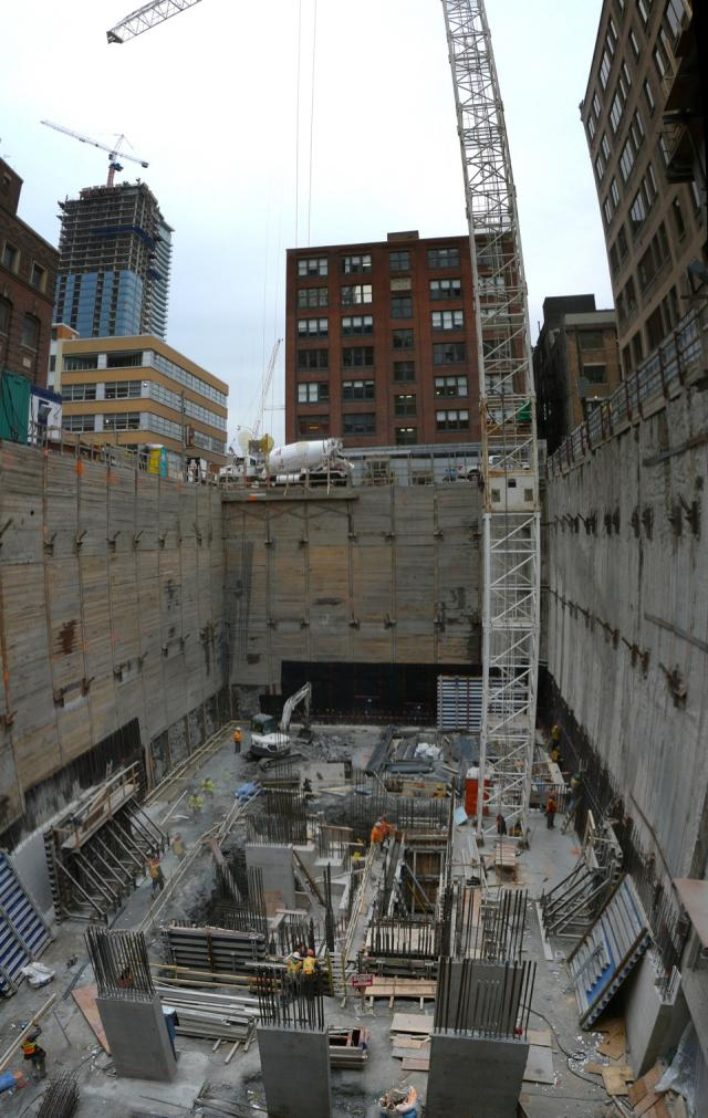 Studio2 condos Toronto starts to grow from its excavation pit