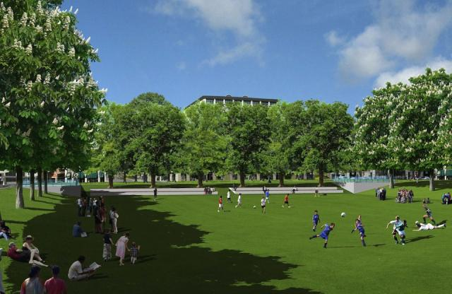 The play area coming to Regent Park's new Central Park, Toronto