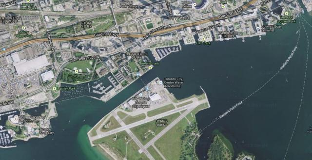 City of Toronto, Porter Airlines, Billy Bishop Airport, Waterfront