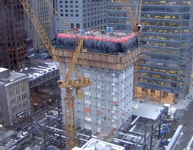 Webcam image of Bay Adelaide Centre East under construction, Toronto