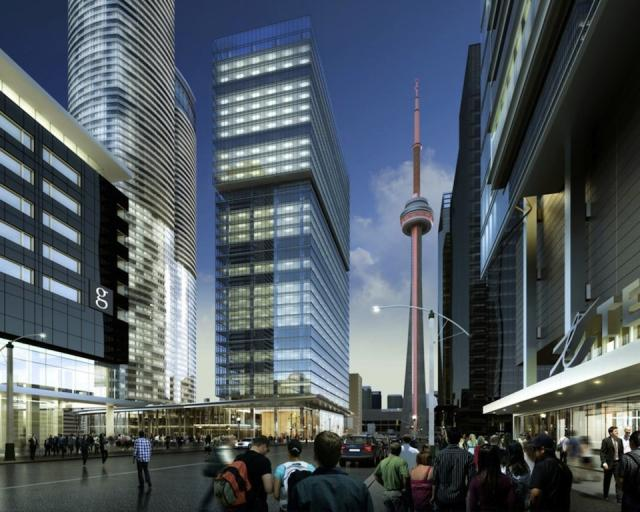 16 York Street, Toronto, image courtesy of Cadillac Fairview