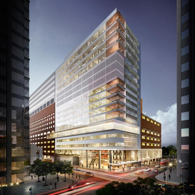 St. Michael's Hospital Patient Care Tower, Diamond Schmitt Architects