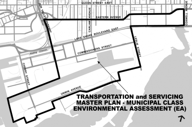 Port Lands, Revitilization, Master Plan, Environmental Assessment, Waterfront TO