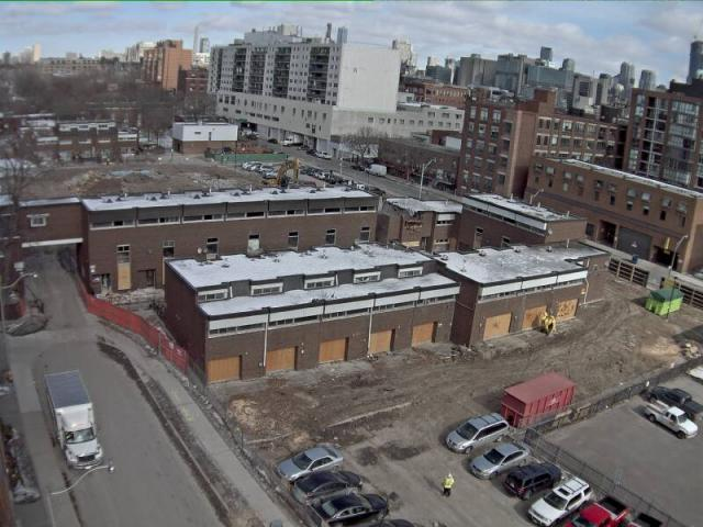 Alexandra Park Phase One demolition is underway in Toronto, Tridel WebCam