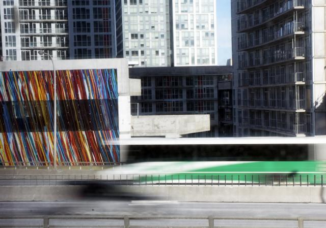 Gardiner Streams by Katharine Harvey, Concord CityPlace, Toronto