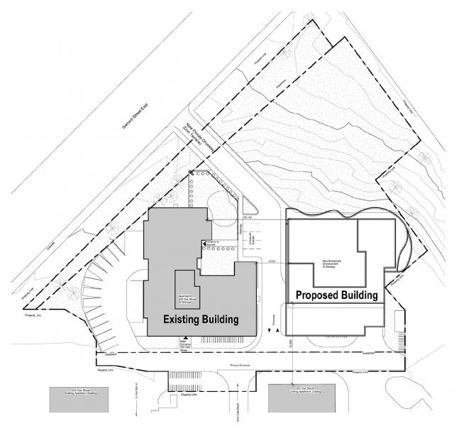 Site plan Oak Heights