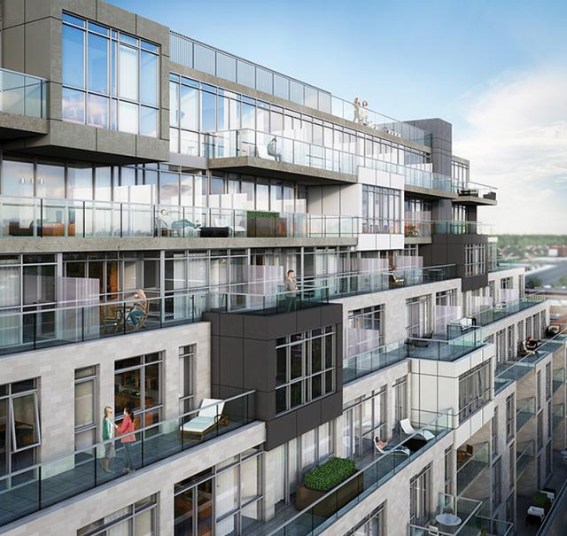 Terraces at The Nest condos Toronto by The Rockport Group