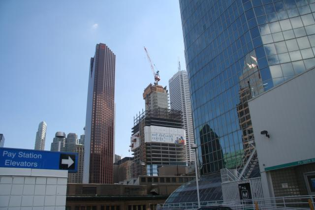 The Growing View From The Eaton Centre