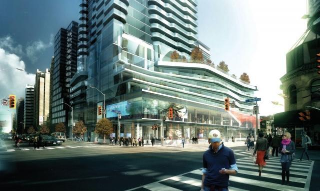 One Bloor East, Great Gulf Homes, Hariri Pontarini Architects, Tucker HiRise
