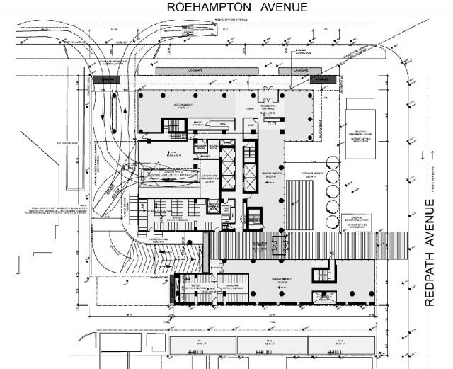 150 Redpath, Freed Developments, Phase 2, architectsAlliance, 155 Redpath