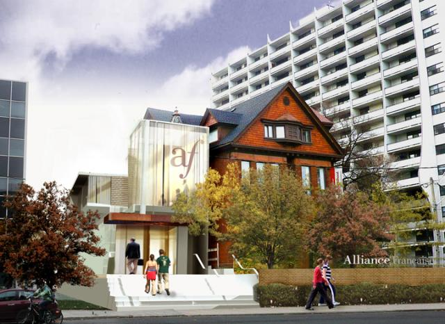 Alliance Francaise Expansion, Bloor Street Culture Corridor, Toronto