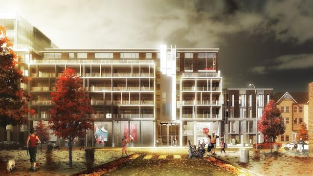 The Taylor, Leslieville, Streetcar Developments, TACT Architects