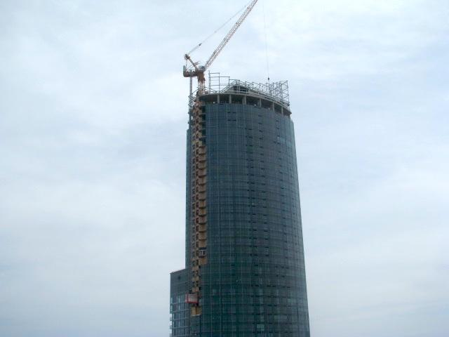 Aura condos webcam as seen in the early afternoon, May 7, 2014, Toronto