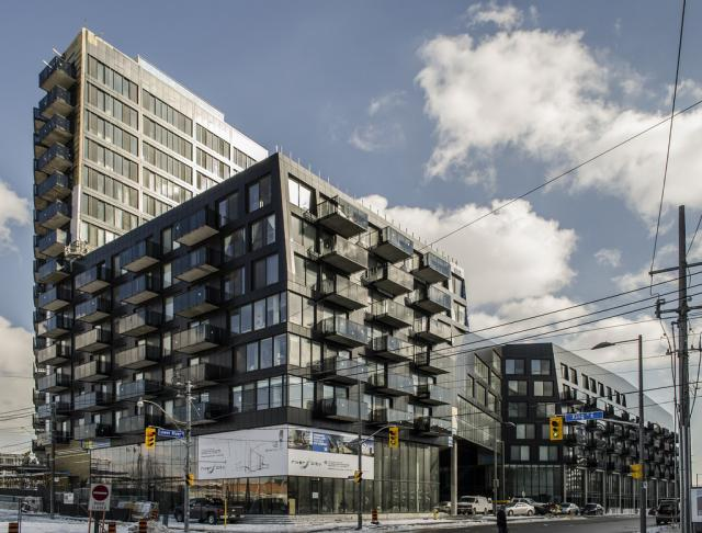 River City Phase 1 Condos, design by Saucier + Perrotte Architects, Pug Awards