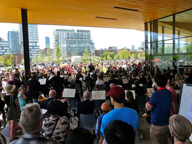 Toronto Symphony Orchestra (TSO) at the Opening of Regent Park, Toronto