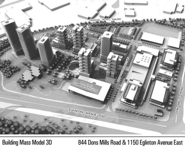 Celestica, re-zoning, Eglinton Crosstown LRT