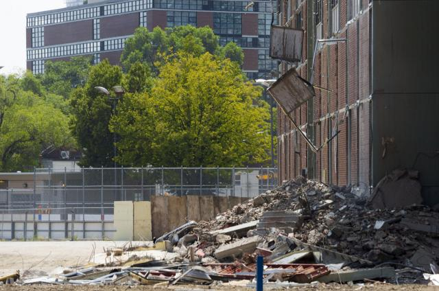 Regent Park Revitalization, phase three, 3, demolition, Toronto