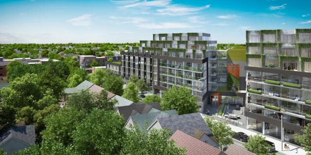 Howard Park Residences, Toronto, Triumph Developments, RAW Design