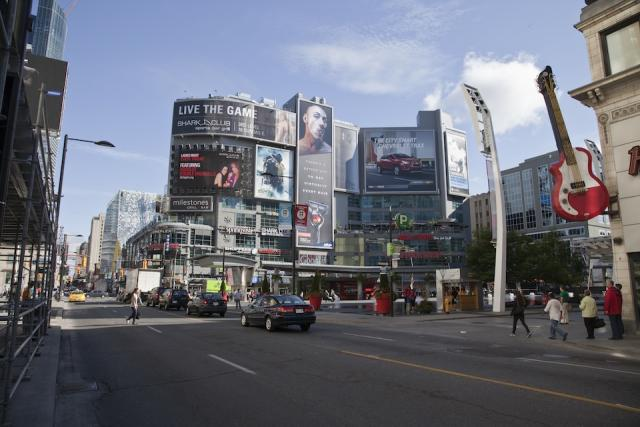 Throwback Thursday, Yonge and Dundas