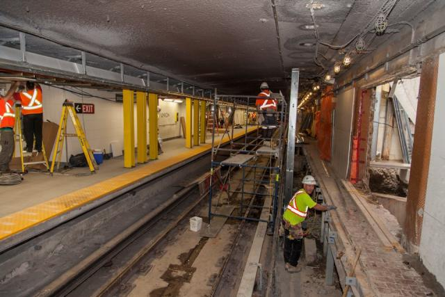 Second Platform and Concourse Improvements, Toronto