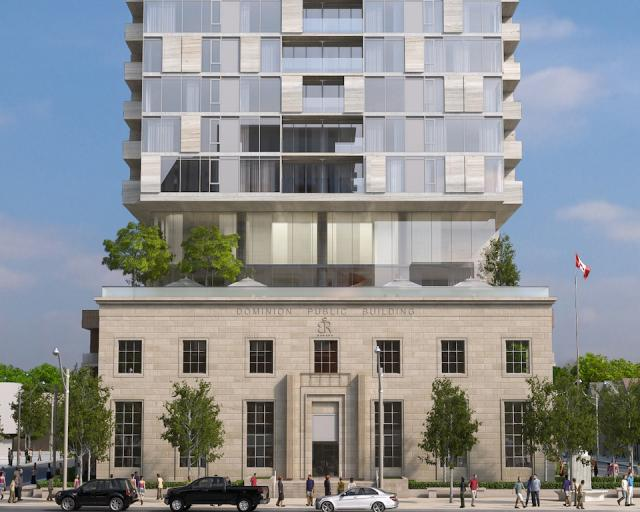 Montgomery Square will preserve a heritage building and improve a park, Toronto