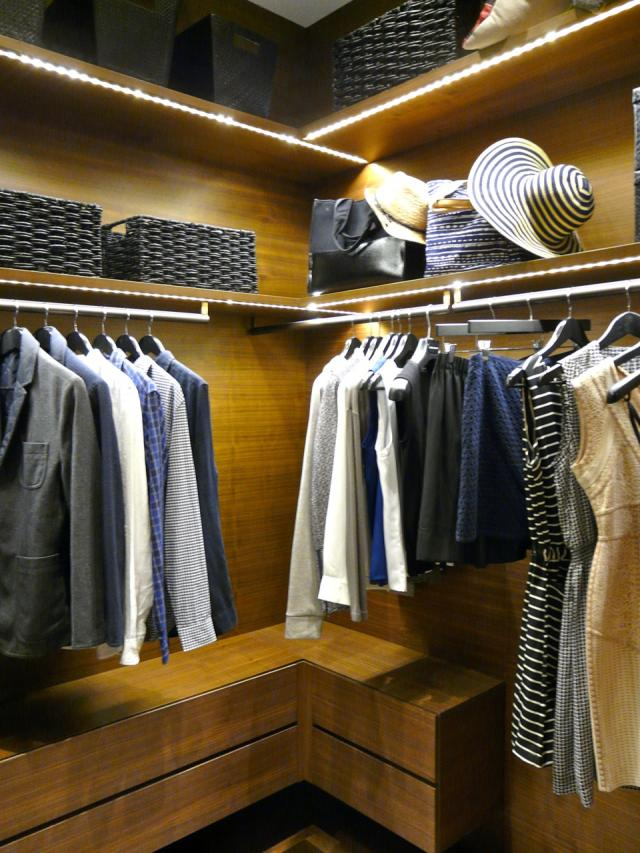 Closet at Residences of 488 University Avenue, Toronto