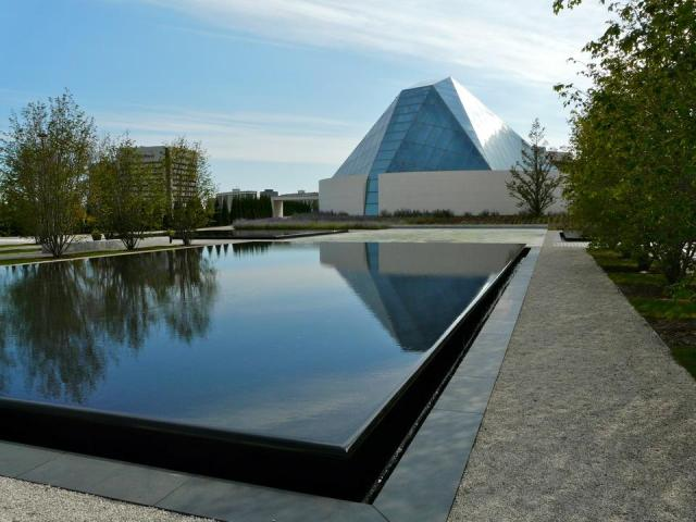 The Ismaili Centre Toronto, designed by Charles Correa