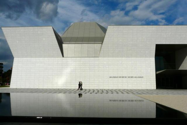 The Aga Khan Museum, designed by Fumihiko Maki, Toronto