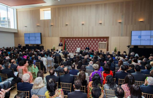 Aga Khan IV and Prime Minister Harper open the Ismaili Centre, Toronto