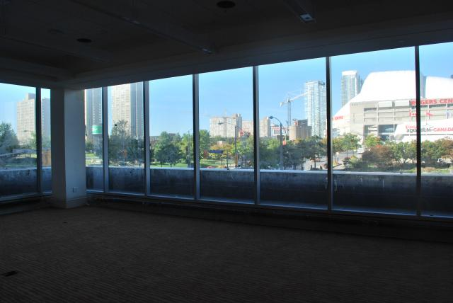The 'Harbourfront' meeting room overlooks Simcoe Street. Image by Marcus Mitanis