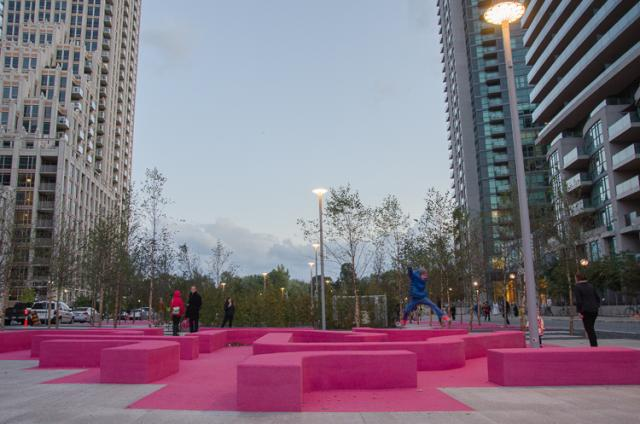 Toronto's new June Callwood Park designed by gh3 architects, ure-tech