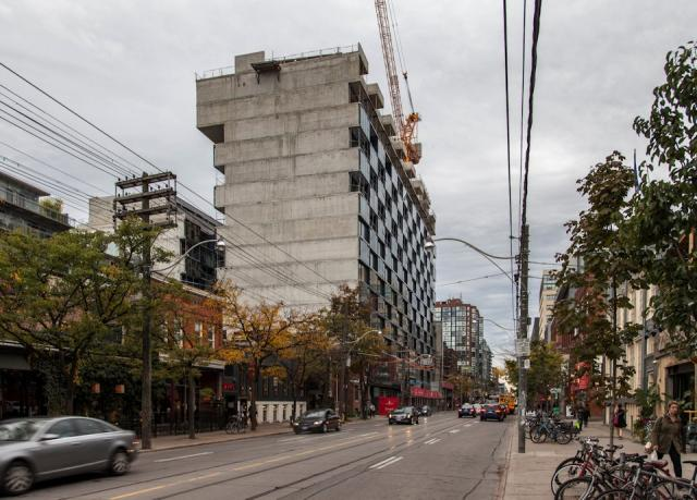 Thompson Residences, Freed Development, Saucier+Perotte, King and Bathurst