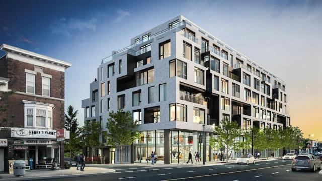 DUKE Condos sits at the corner of Dundas and Indian Grove, image courtesy of TAS
