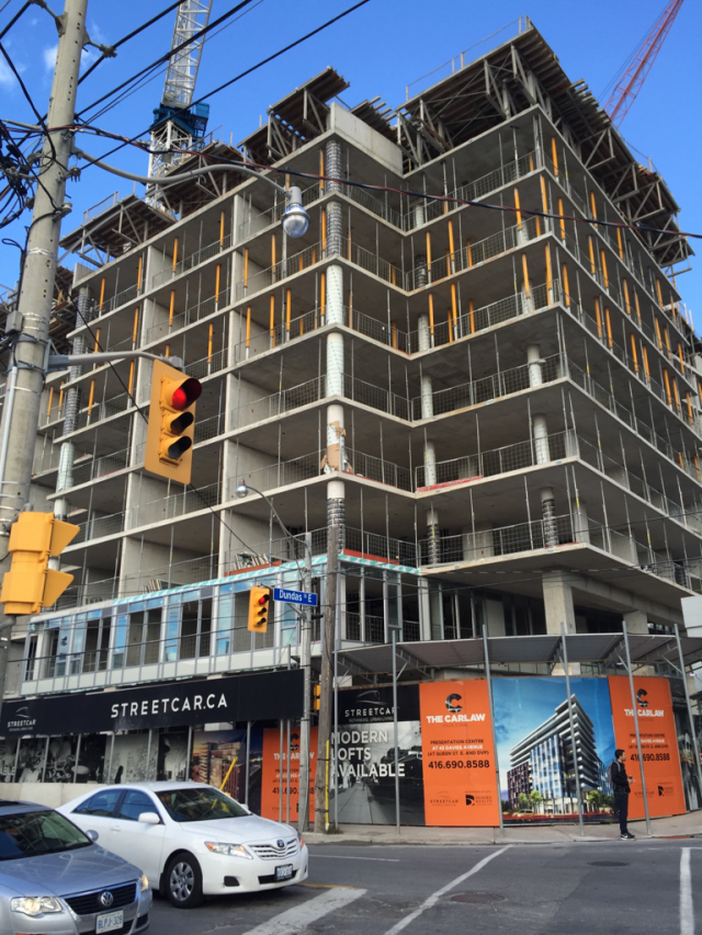 The Carlaw, Streetcar Developments, TACT Architects, Toronto