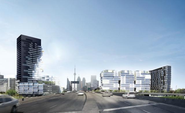 River City, Urban Capital, Saucier + Perrotte, West Don Lands, Toronto
