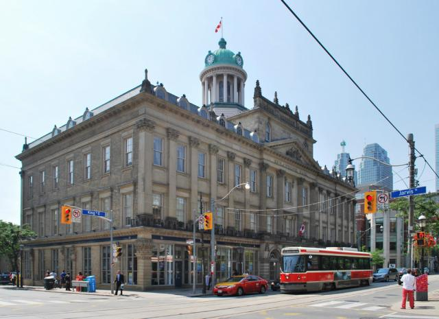 St. Lawrence Hall at King and Jarvis, image by Marcus Mitanis