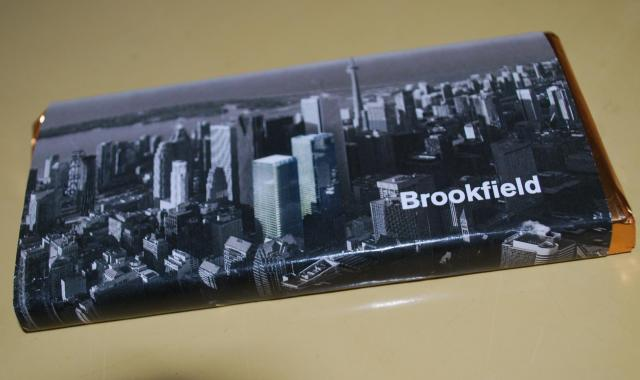 Attendees went home with a souvenir chocolate bar, image by Marcus Mitanis