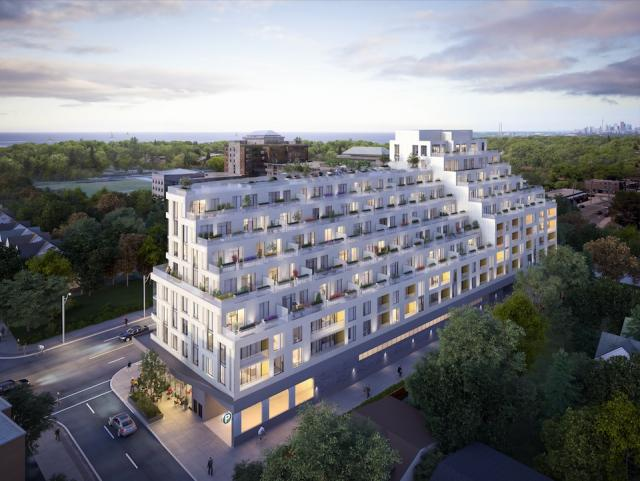 Kingston&Co Condominiums Toronto by TAS, Main & Main, and Teeple Architects