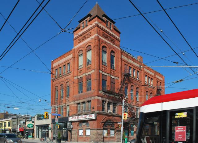 704 Queen Street East, formerly the home of Jilly's, image by Marcus Mitanis