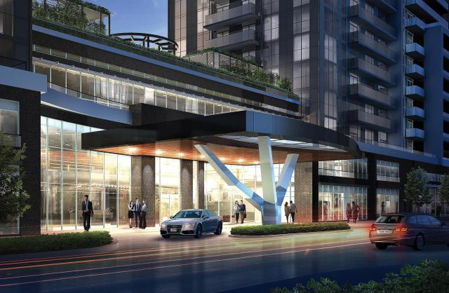 5959 Yonge Street Condos, Toronto, Kirkor Architects, Ghods Builders