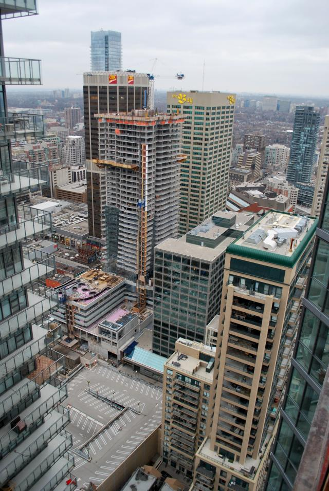 One Bloor continues its journey skyward, image by Marcus Mitanis