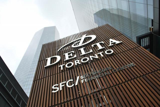 Delta Toronto, the tallest hotel-only tower in the city, image by Marcus Mitanis