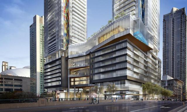 Block 22, Concord CityPlace, Toronto, Page + Steele Architects, Concord Adex