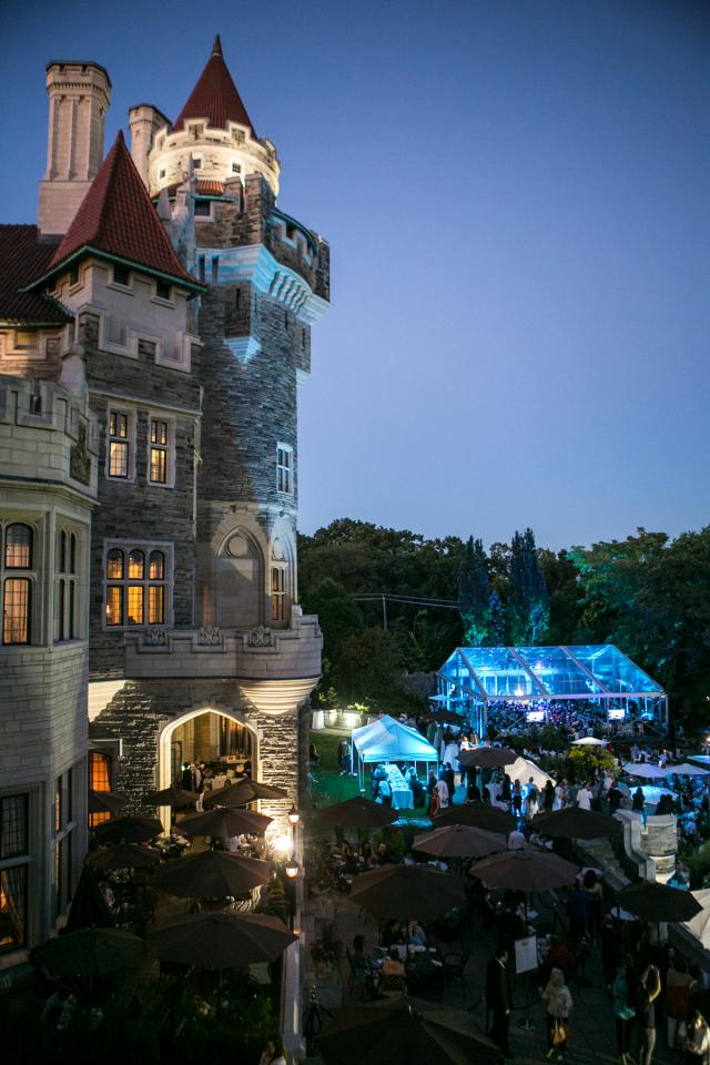 Casa Loma's Summer Symphony Series, image by Liberty Entertainment Group