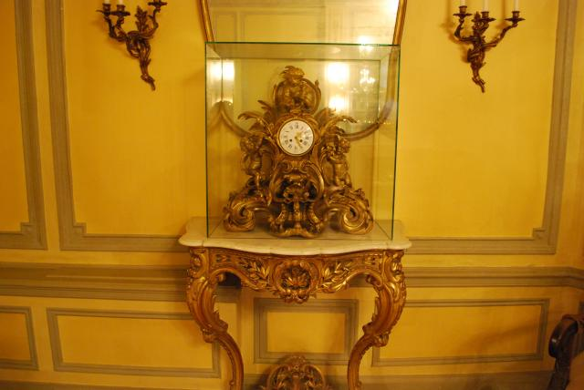 Liberty purchased this $80,000 antique clock, image by Marcus Mitanis