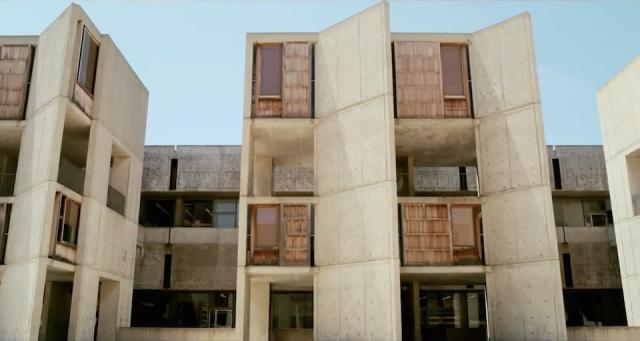 Salk Institute, from Cathedrals of Culture, copyright neueroadmovies