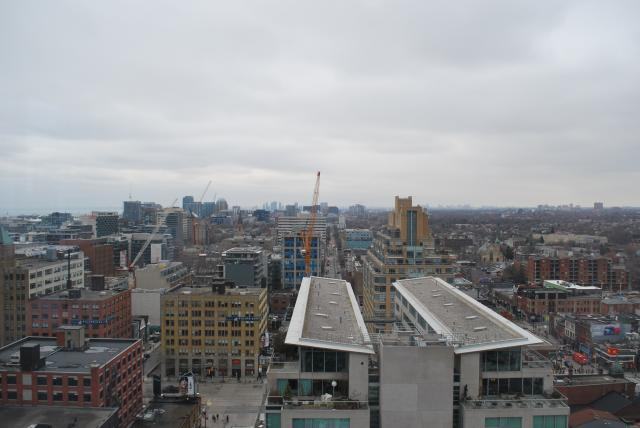 View to the west from the 17th floor, image by Marcus Mitanis